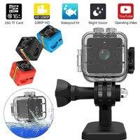 SQ12 HD Mini Camera Micro Camera Waterproof MINI Camcorder Small Camera DVR Mini Video Camera Sport