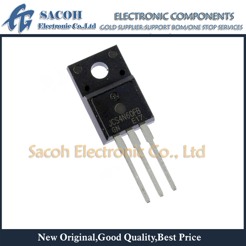MOSFET 10pcs JCS4N60FB 600v-Power TO-220F Or 4A