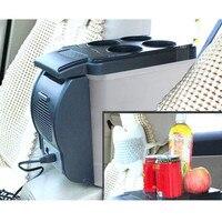 6L 12V Mini Car Refrigerator Heat Fridge Portable Warming And Cooling Vehicle Refrigerator Cooler Warmer Truck