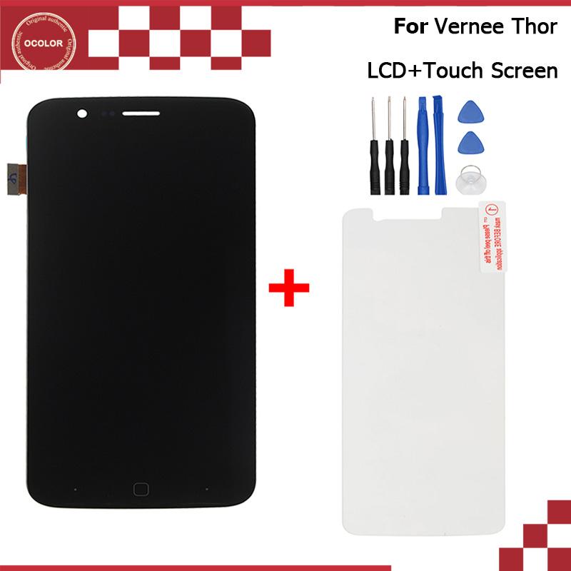 Prix pour Vernee Thor LCD Affichage et Écran Tactile Assemblée Réparation Partie 5.0 pouce Mobile Téléphone Accessoires Pour Vernee Thor Outils et Film