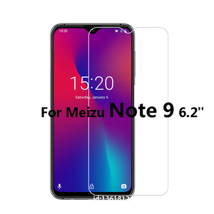 For Meizu Note 9 6.2 inch Tempered Glass 9H High Quality New Screen Protector Film For Meizu Note 9 Mobile Phone Glass