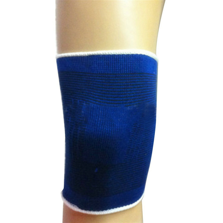 2pc Calf Support Leg Knee Pad Protector Soft Elastic Breathable Support Brace Knee Protector Pad Sports Bandage Hot Search
