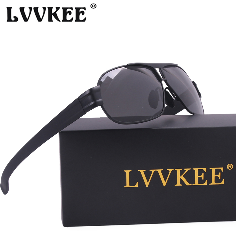 a073714a682 LVVKEE mens Polarized sunglasses Car Driving outdoors Sports UV400 Blu ray  sun glasses oculos masculino Male Eyewear Accessories-in Sunglasses from  Apparel ...