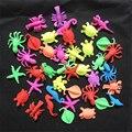 10 ШТ. Океан Животных Динозавр Оставляет Ребенка Растет игрушка Дети Вода Играет Замачивания Расширения Juguetes Дети Смешные Tricky Игрушки