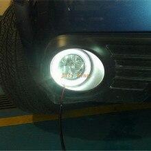 Luglio Re HA CONDOTTO LA Luce di Guida Daytime Corsa e Jogging Luci 3 Led DRL Lampada della Nebbia del LED per Subaru forester 2008 ~ 13 Rimontaggio di 1:1