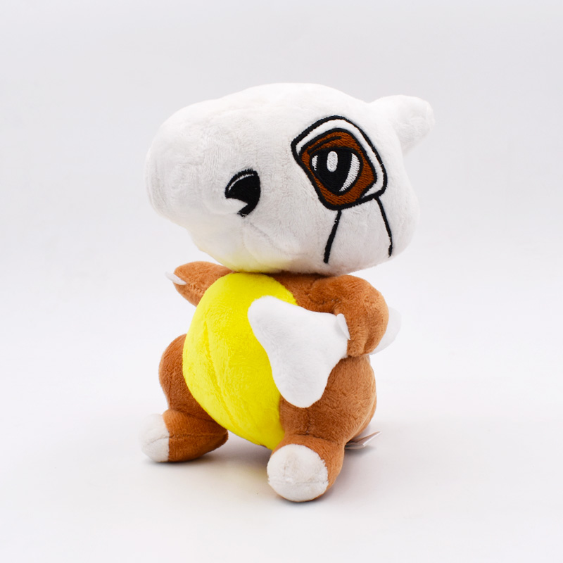 купить Free Shipping 16cm Peluche Doll Cubone Osselait Plush Toy Stuffed Dolls Plush Doll Gifts For Children недорого