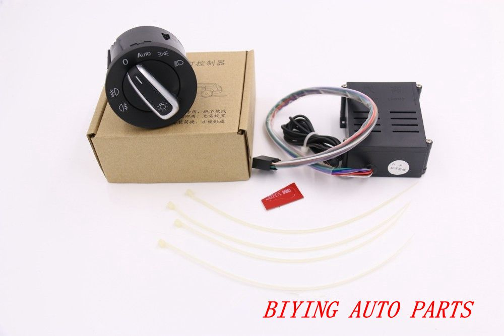 The Newest Version VW Auto Headlight Light Sensor Switch For Golf MK4 4 IV Jetta MK4 MK6 VI Bora Polo Passat B5 With Instruction коммутатор baparts vw passat mk4 b5 lavida 208