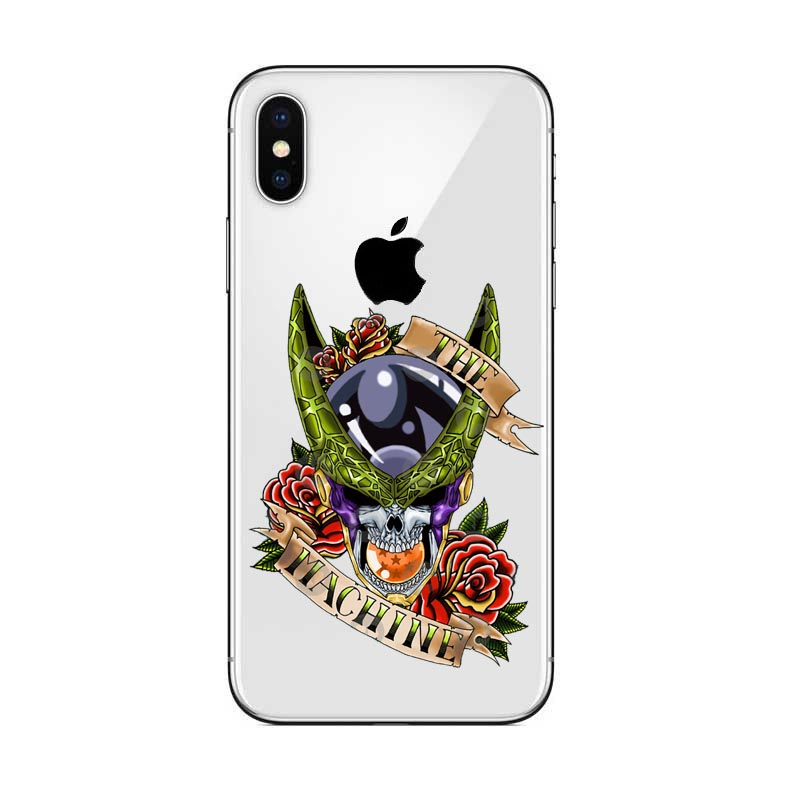 Dragon Ball Z Super DBZ Goku DBS Fashion Coque Hard PC Case Cover shell For Apple iPhone 5 5s Se 6 6s 7 8 Plus X XR XS MAX in Half wrapped Cases from Cellphones Telecommunications