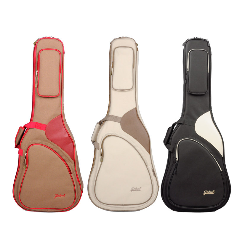 Le sac de guitare 41 pouces bouleversé jean sac guitare acoustique double sac à dos guitare Folk sac B-6183