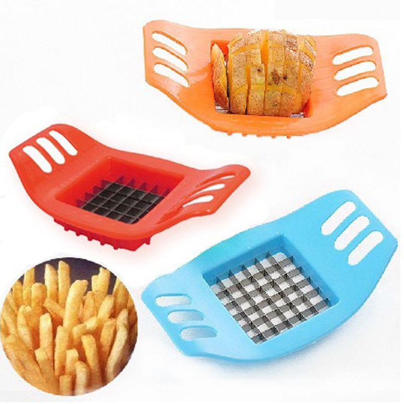 Us 159 20 Offnew 1pcs French Fry Potato Chip Cut Cutter Vegetable Fruit Slicer Chopper Chipper Blade Easy Kitchen Tools In Shredders Slicers