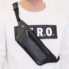 Men Women Ultrathin Sling Bag Waterproof Waist Pack Chest Shoulder School