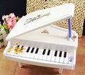Branco eletrônico sinfônica Mini de Piano infantil tipo de jogo instrumento Musical educacional brinquedos presente para as crianças