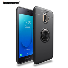 For Samsung Galaxy J2 Core Case J260 Finger Ring Stand Shockproof Soft Cover for SM-J260F Phone Cases 5.0