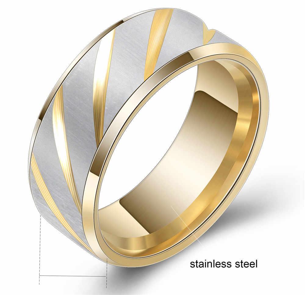 Розовый циркон Обручение цвет серебристый, Золотой обручальные кольца для Для женщин двойной скошенный партии цветок саржа крест песок пара кольцо для женщин
