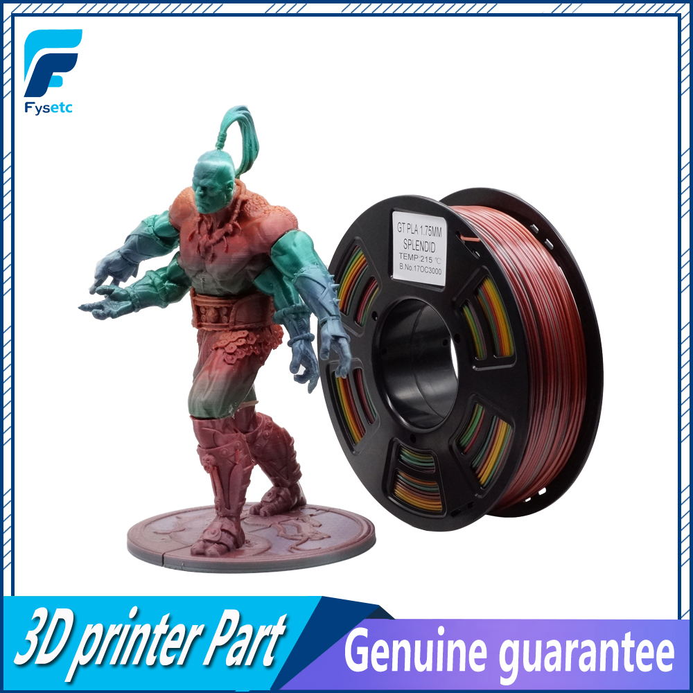 1.75mm 1kg/2.2lbs PLA/ABS Filament Top Quality Splendid Color Printing Materials 1.75 pla/abs filament For 3D Printer/3D Pen new 3d printer printing filament abs 1 75mm 1kg for print reprap color gold yellow