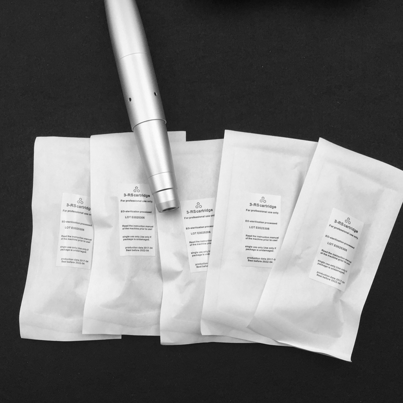 600D G Clear Permanent Makeup needles 3RL or 3RS 100pcs for Tattoo Eyebrow lips eyeliner Pen Machine Tips in Tattoo Needles from Beauty Health