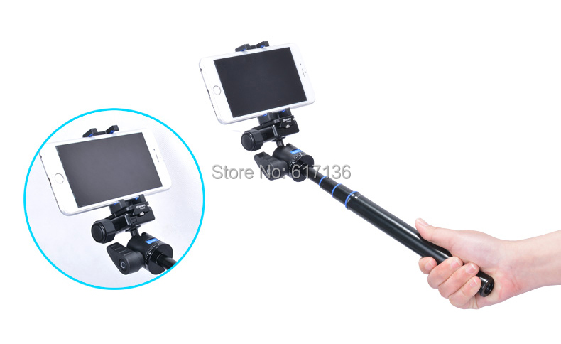 8c332d25163141 Benro MH2 SmartPhone Adapter For Tripod Monopod Selfie Stick Phone ...