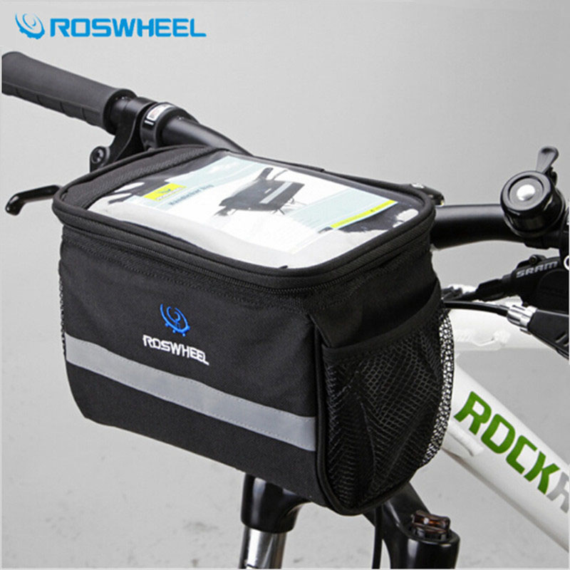 Bicycle Bags & Panniers Helpful Cycling Bike Mtb Bicycle Outdoor Handlebar Diamond-shaped Front Basket Tool Bag Pouch Pannier Quick Release Bicycle Accessorie