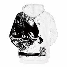 Mr.1991INC New Fashion Sweatshirts Men/Women 3d Hoodies Print Ink Skulls And Small Dragon Hooded Hoodies Thin Pullovers