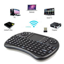 2pcs Mini 2.4G Wireless I8 Fly Air Mouse Russian/Hebrew/Arabic/English/Spanish/Italian Keyboard For Laptop Tablet Pad TV Box