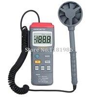 Mastech MS6250 Digital portátil profissional anemômetro vento Air Speed medidor de fluxo medidor Tester com Backlight Data Hold