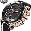 Top Brand Quartz Watch Leather Waterproof