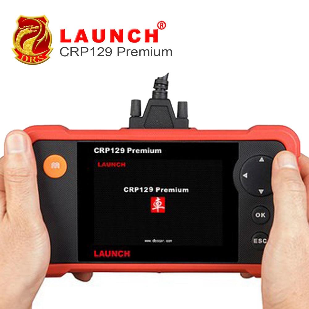 Цена за Авто сканирования Creader Профессиональный 129 Премиум OBD2 Code Reader Сканер CRP 129 электронный Парковочные тормоза (EPB) выпуск