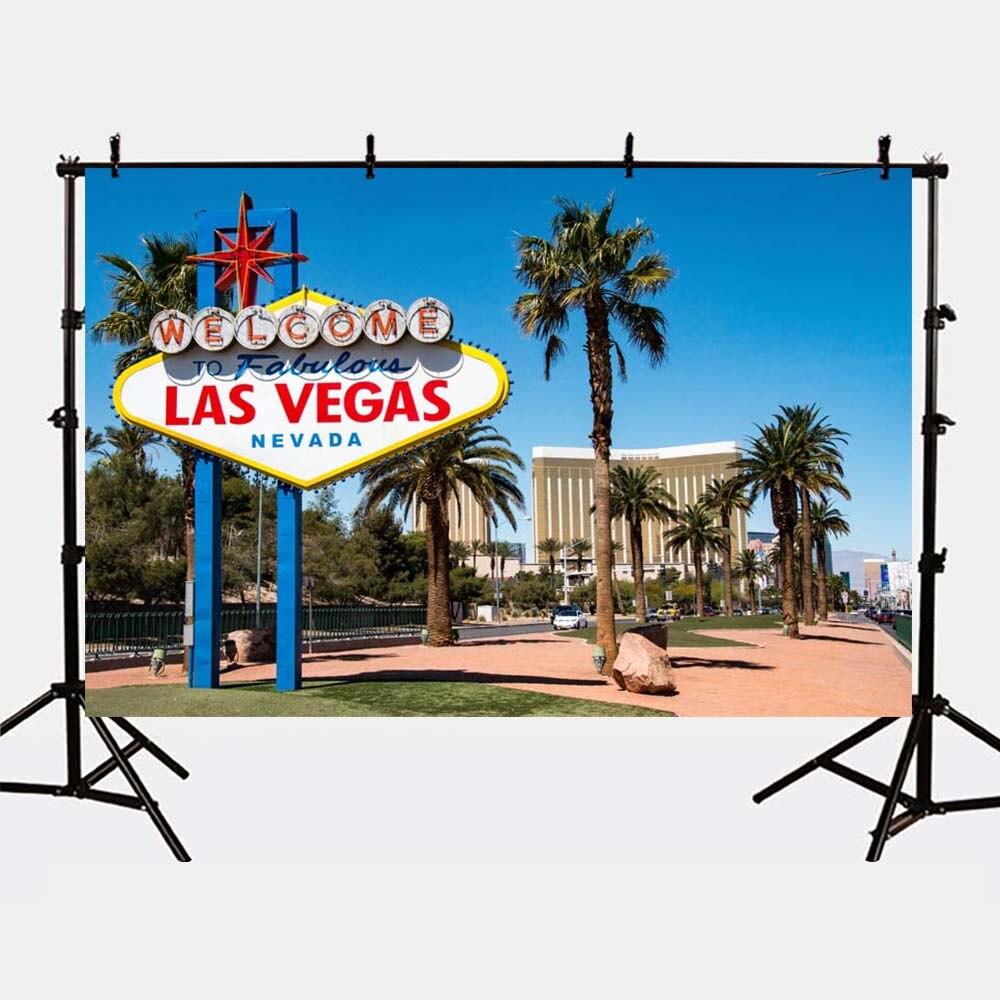 Mehofoto Photography Backdrops Las Vegas Photo Shoot Background Palm Trees for Photographers Studio G-168