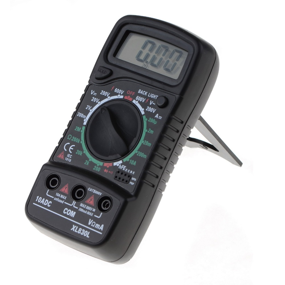 XL830L skaitmeninis multimetras Nešiojamasis daugiametis kintamos / - Matavimo prietaisai - Nuotrauka 2