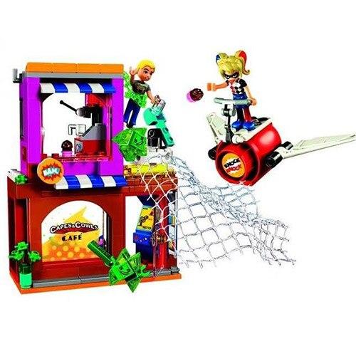 Bevle 10617 Bela DC Super Hero Girl Harley Quinn to the rescue Building Block Bricks Toys Gift For Children Wonder Woman 41231 the rescue