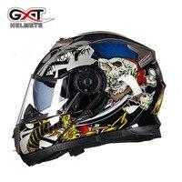 2017 Winter New GXT Flip Up Motorcycle Helmet Double Lens G 160 Undrape Face Motorbike Helmets
