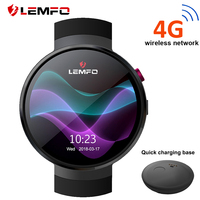 LEMFO LEM7 Smart Watch Android 7.0 LTE 4G Sim 2MP Camera GPS WIFI Heart Rate 1GB + 16GB Memory with Camera Translation tool
