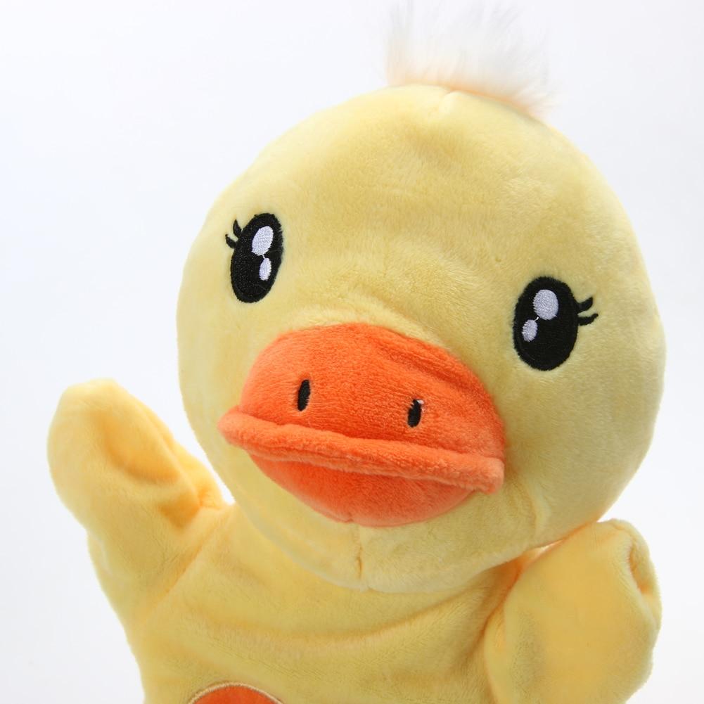 Hand Puppet Cute Cartoon Duckling Hand Puppet Kids Child Educational