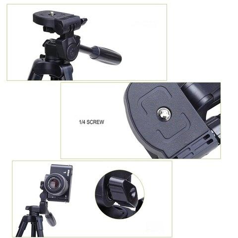 VCT-520 Tripod Professional Portable Monopod Travel Aluminium Camera Tripod/Accessories/Stand Dslr Camera Trepied Appareil Photo Lahore