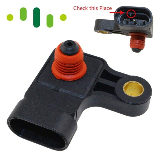 MAP Pressure SensorFor Chevrolet Daewoo Lacetti Lanos Leganza Nubiba Optra Rezzo Tacuma 1.4 1.6 1.8 2.0 96276354 25184080