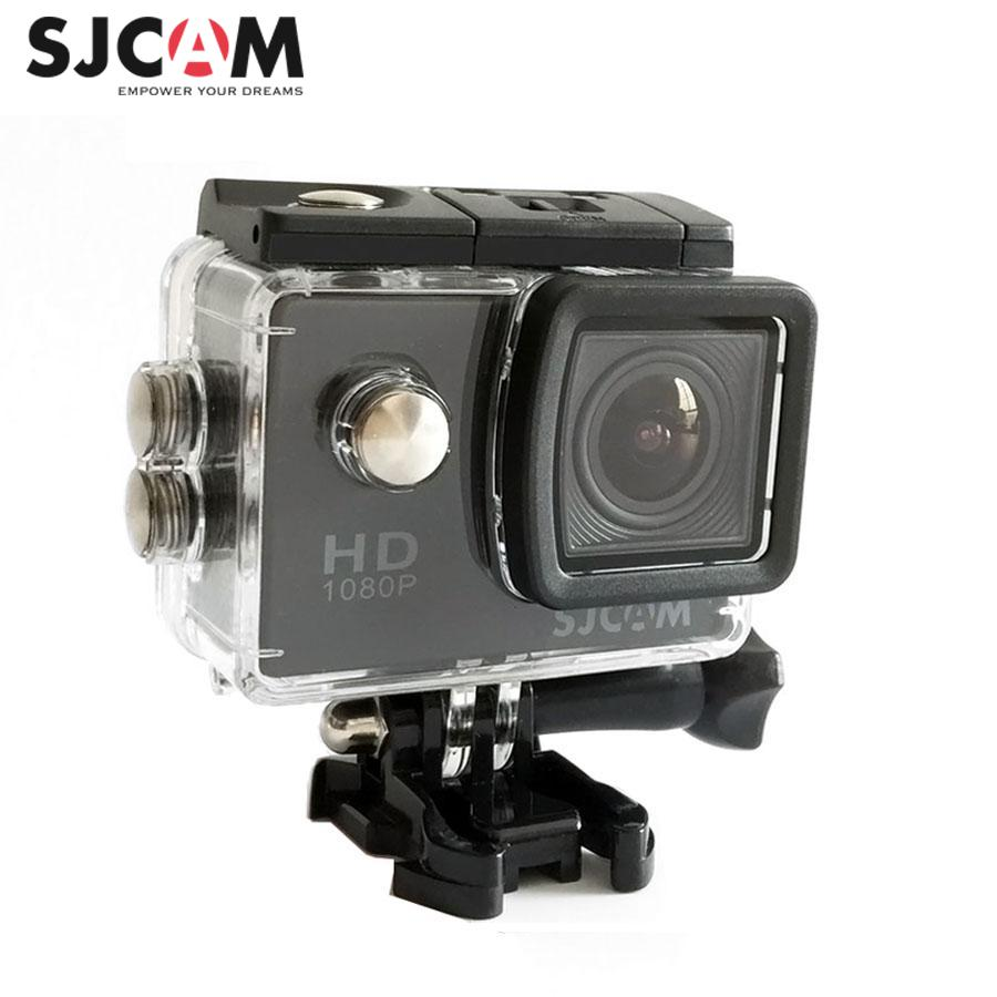 100% Original Sjcam SJ4000  2 Screen 12MP 1080P 30M Waterproof Mini Outdoor Sports Action Camera Car Mini DVR
