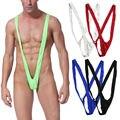 Borat Mankini Green Swimwear Men Swimsuit Gay Sexy Underwear Thong Man Bikini Blue Black Orange Funny Movie Cosplay Costume