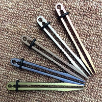 H869 Free Shipping Outdoor New Products Pelican One Piece EDC Tweezers Titanium Clips Tc4 Ultra Light