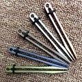 H869 edc al aire libre los nuevos productos pelícano de una sola pieza/pinzas clips titanium/tc4 ultraligero elástico edc