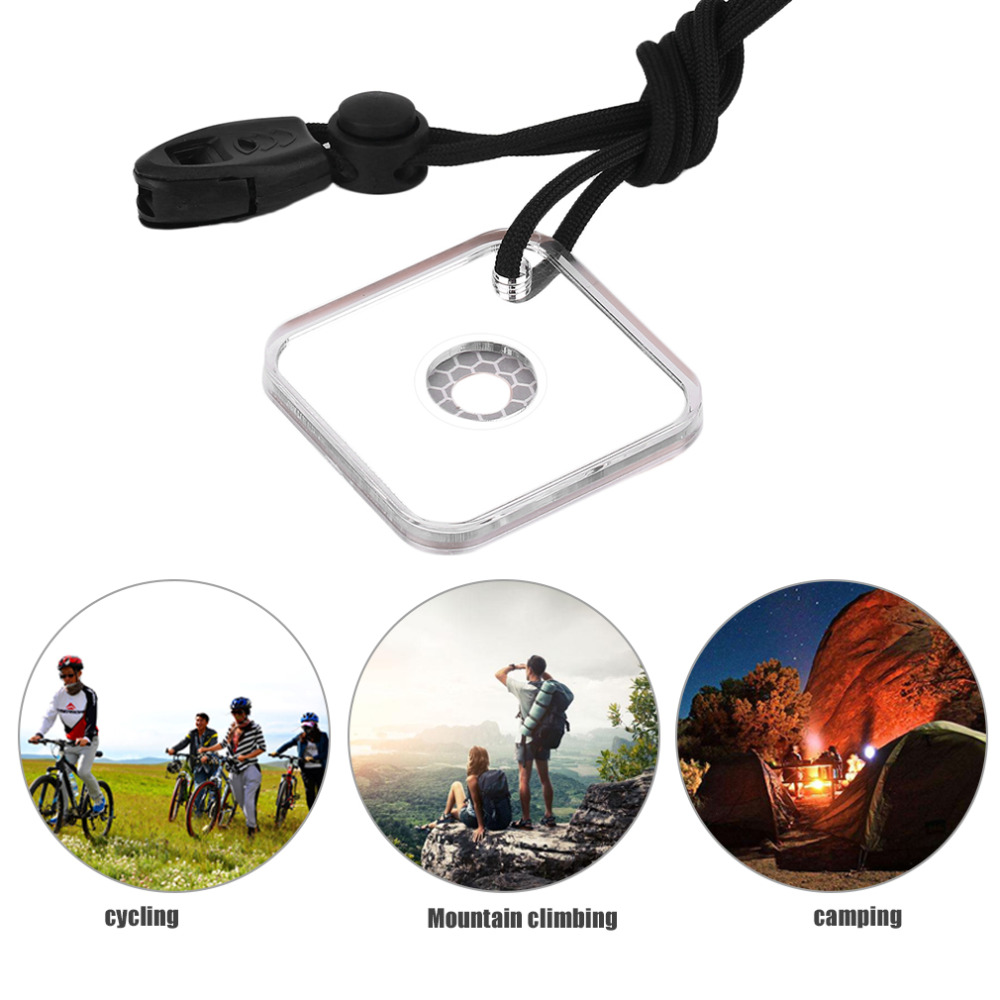 Emergency Survival Mirror Signal Whistle Multifunctional Outdoor Espejo Supervivencia Tool With Targeting Function-in Safety & Survival from Sports & Entertainment