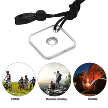 Heliograph Signal Mirror With Whistle Multifunctional Outdoor Emergency Survival Tool Targeting Function New Hot