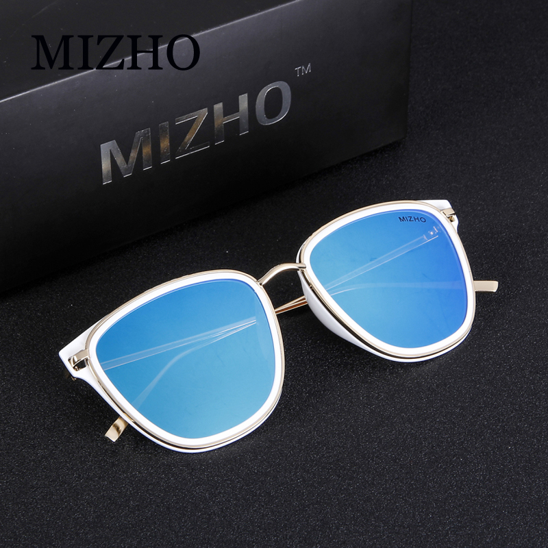 b844eed847 MIZHO Retro Brand Women Colored Sunglasses Polarized Mirror Vintage Eyewear  Accessories Balck Men s Sun Glasses Clear For Mujer-in Sunglasses from  Apparel ...