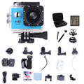 Go Action Camera Pro WIFI HD 1080P 30M Waterproof 170' Wide Angle Sport camera DV+Monopod+2pcs battery+bag+Chest+Head Mount