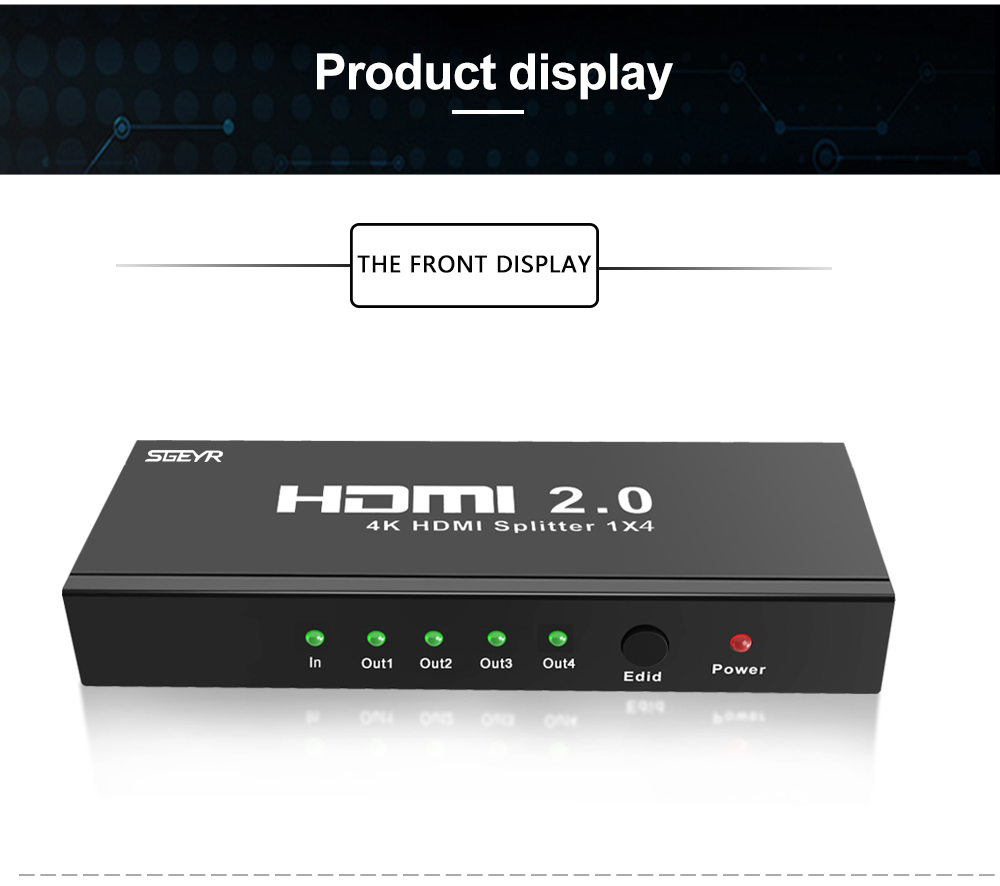 4 port HDMI 2.0 splitter (11)