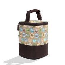 Mutterschaft Handtasche Termos Baby tasche Fütterung Flasche Abdeckung Essen Wärmer Eimer Flaschen Tasche Isolierung Taschen bolso termico biberon