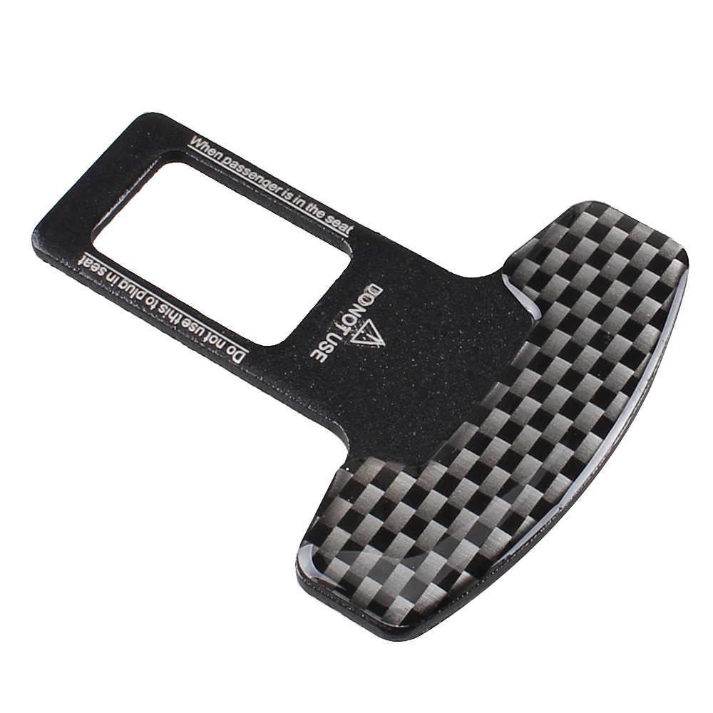 Universal Seat Belt Buckles Car Styling Car Seat Safety Belt Buckle Clip Protective Lock Belt 2 PCS
