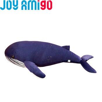 الأزرق الحوت الأسماك أفخم لعبة محشوة الحيوان   كبيرة   أنيق لينة الحوت الجسم وسادة   لعبة الهدايا