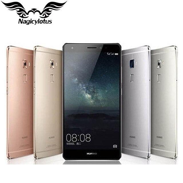 """Оригинал huawei mate s 4g lte мобильного телефона кирин 935 5.5 """"3 ГБ RAM 32 ГБ ROM Android 5.1 1920X1080 13.0MP Отпечатков Пальцев Force Touch"""