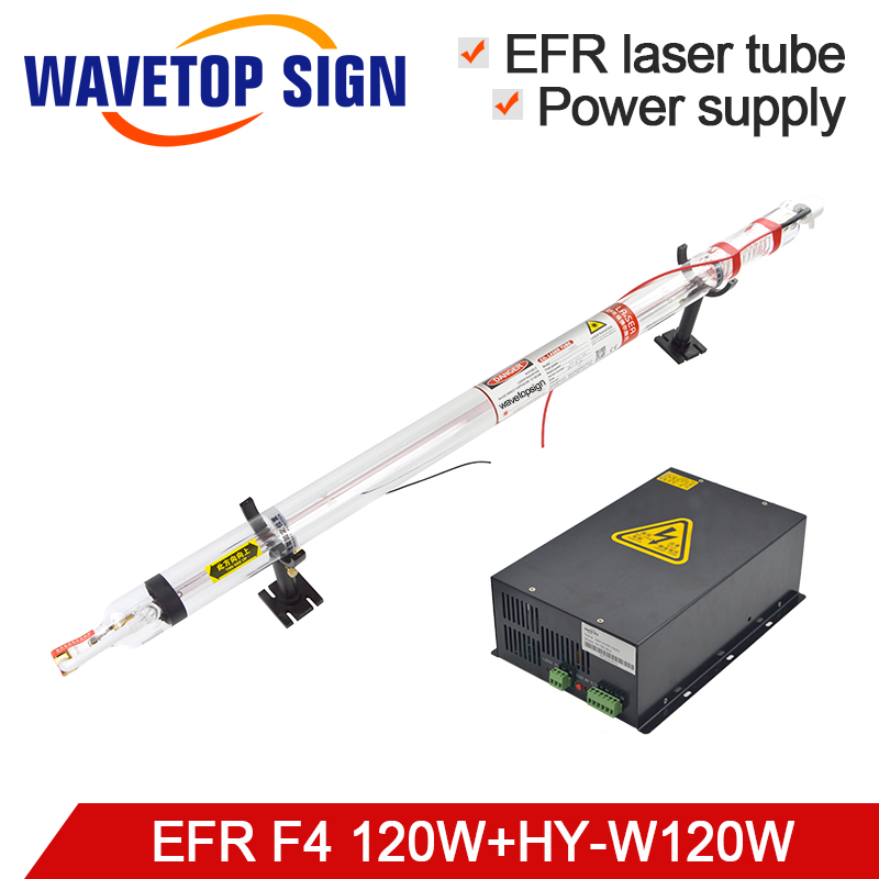 EFR Laser Tube F4 120W Laser Power Box HY W120 100 120W or MYJG 120W