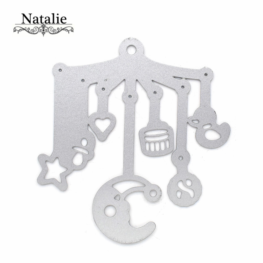 Moon Baby Campanula Metal Cutting Dies Stencil Embossed Scrapbooking Decorative DIY Paper Die Cutter DC 024 in Cutting Dies from Home Garden